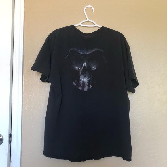 Vintage Other - Vintage American Reaper T Shirt Black